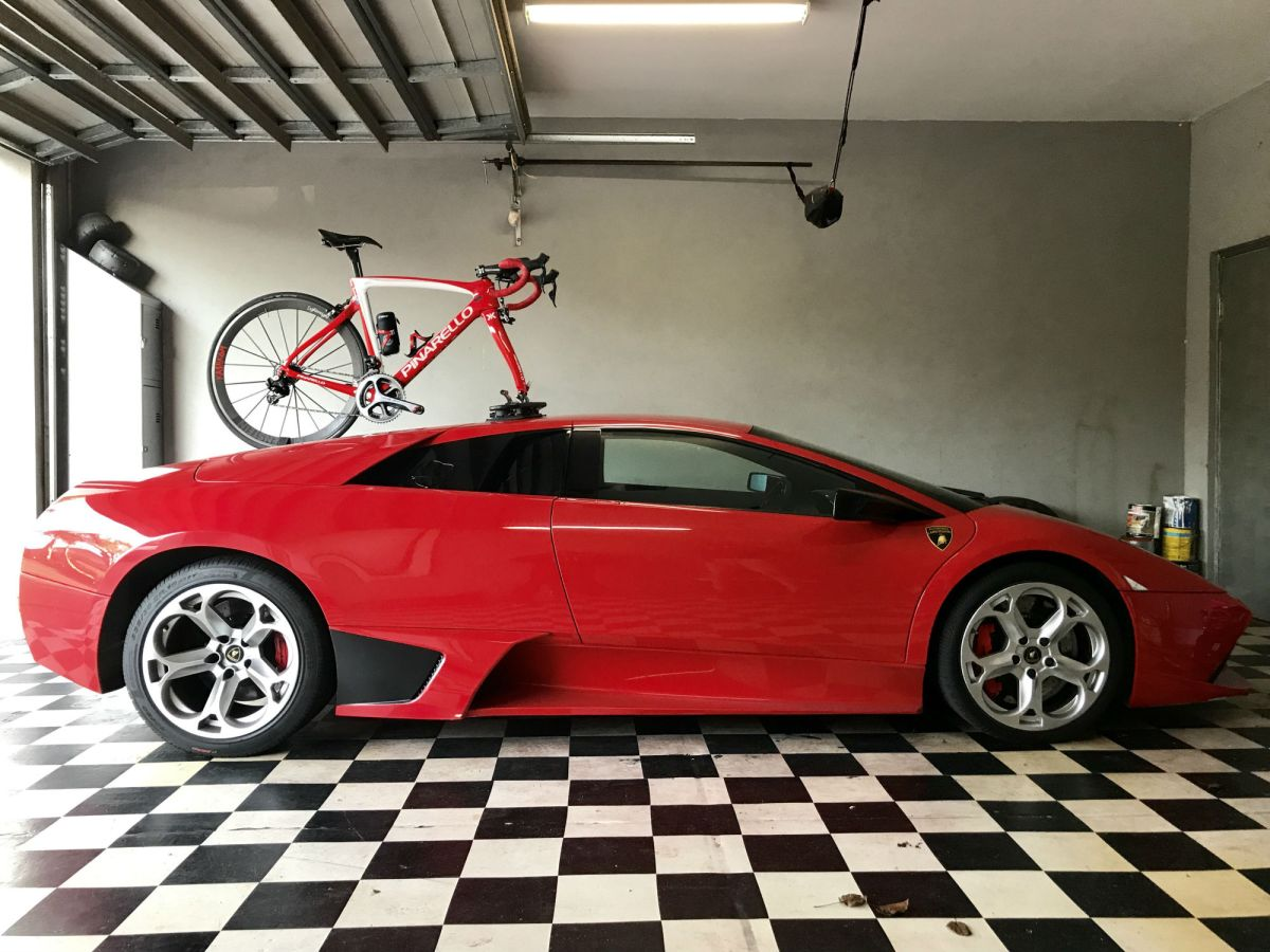 Lamborghini Murcielago Bike Rack - Part 1